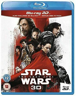 Star Wars: The Last Jedi [Blu-ray 3D] [2017] [Region Free] [Blu-ray]