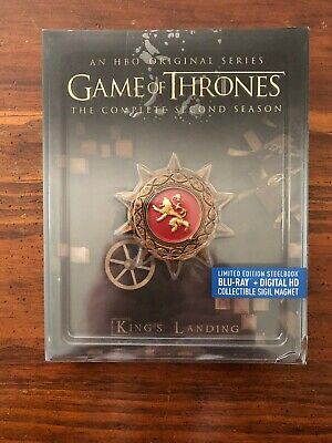 Game of Thrones: The Complete Second Season (Blu-ray Disc) NEW (Not Sealed) #MA