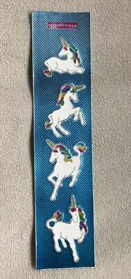 Foil Unicorn Stickers, Toots, Vintage 1980's, Chao-Ching Yu