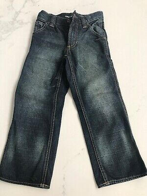 Gap Kids Carpenter Jeans Size 5 With Adjustable Waist