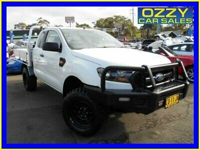 2015 Ford Ranger PX MkII XL 3.2 (4x4) Cool White Manual 6sp M Super Cab Chassis