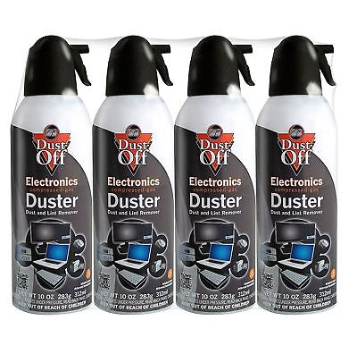 Dust-Off DPSXL4 Disposable Duster - Pack of 4 x 10 oz.