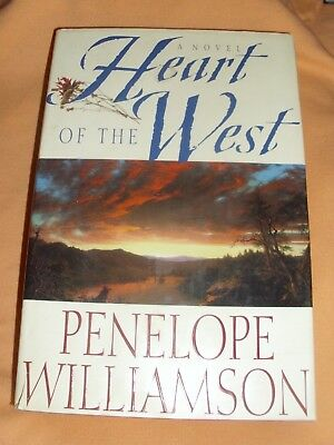 Heart of the West by Penelope Williamson (1995, Hardcover with Dust Jacket, 1st)