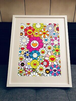 Takashi Murakami Framed Wall Art Print Decor
