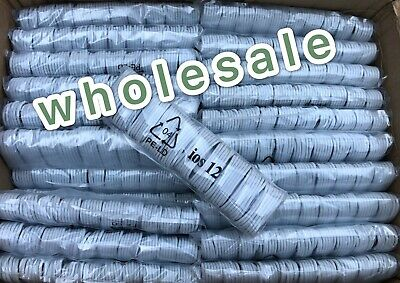 5-1000 Lot iPhone Charger Cord Lightning Cable for Apple iPhone 5S 6+ 6S 7 8+ X