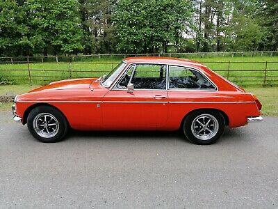 1972 MGB GT - a genuine unrestored 21,600 mile example