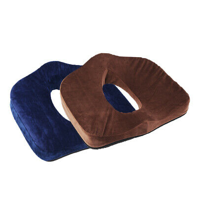 Memory Foam Seat Chair Cushion Orthopedic Coccyx Support Pillow Relieve