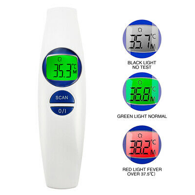 FR800 Non Contact Thermometer Digital Lcd Display Body Object Infrared Detector
