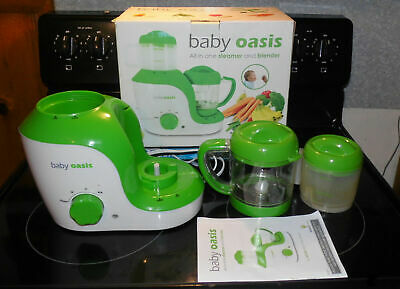Smart Planet BABY OASIS Baby Food Maker All in one Steamer & Blender w/ Box