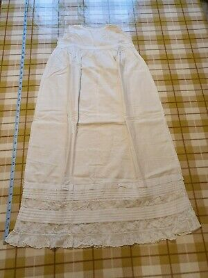 Vintage Cotton Christening Gown