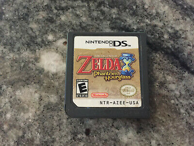 The Legend of Zelda: Phantom Hourglass (Nintendo DS, 2007) Cart. Tested & works!