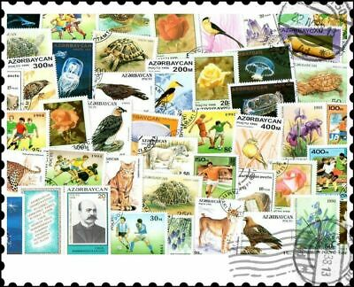 Azerbaijan : 25 Different Stamps Collection