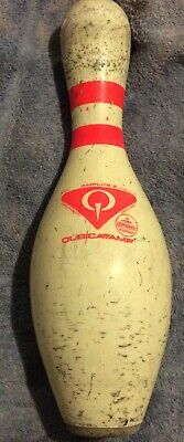 AMFLITE 2 bowling pin usbc approved plastic coated good collectable