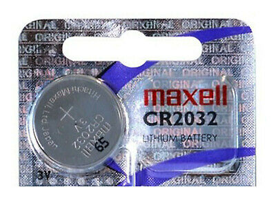 Maxell CR2032 Pila Bios Batteria a Bottone Cell Coin CMOS Battery Lotto Stock