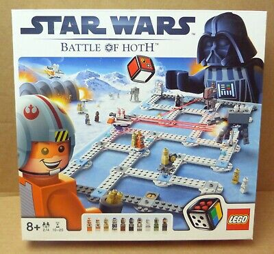 Lego 3866 Star Wars Battle Of Hoth Board Game Complete - Great Condition