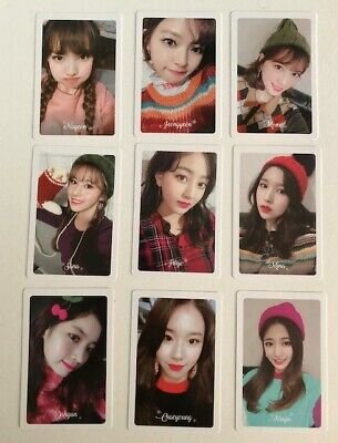 TWICE Merry & Happy PRE-ORDER PHOTOCARD official SET