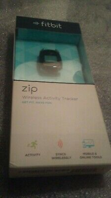 Fitbit FB301C Zip Wireless Activity Tracker. New Sealed- Charcoal Black