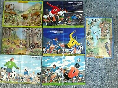Lot 7 Posters 1978 Du Journal De Mickey Football Argentina 1978 Mundial Animaux