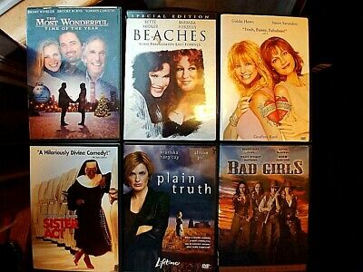 Beaches, Banger Sisters, Sister Act...Ultimate 6 DVD Chic Flick Collection!