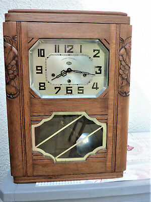 Carillon Odo Veritable Wesminster 8 Tiges 8 Marteaux N° 24 Pendule Horloge Clock