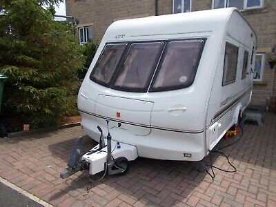 Elddis Jetstream Gt Lightweight 4 Berth Caravan Including Extras