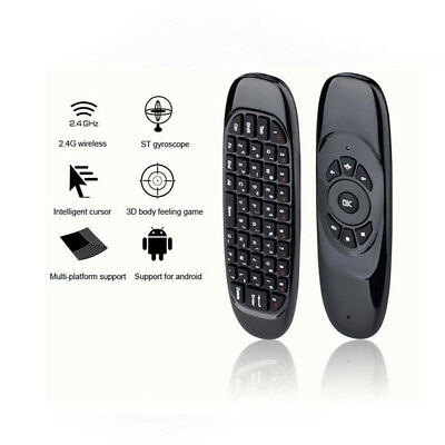 2.4G-Wireless Remote Control Air Mouse Keyboard For Android TV Box Kodi PC KK