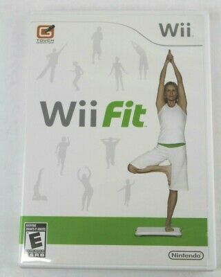Wii Fit Game with Manual (Nintendo Wii)
