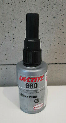 GENUINE UK 50ml LOCTITE 660 Retaining Compound - high strength. Gap filling