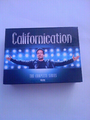 Californication-Die komplette Serie-Gesamtbox 16-DVD-BOX (mit deutscher Synchro)
