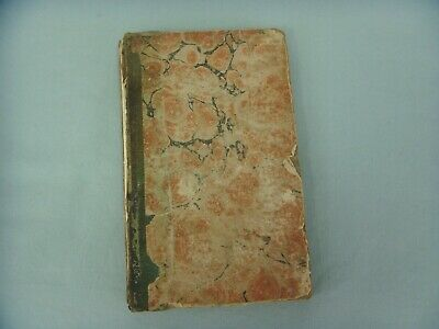 19th CENTURY ANTIQUE/VINTAGE CHILDS BOOK OF ORIGINAL POEMS,  PRINTED DATE 1820
