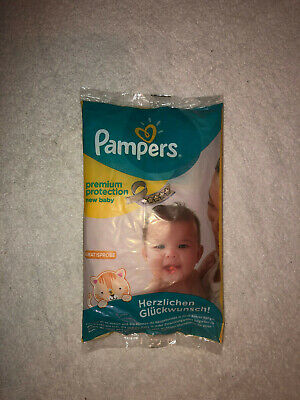 1x Pampers premium protection new baby Windeln * Größe 2 mini * 3-6 kg