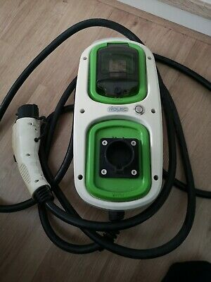 Rolec WallPod Home EV Charge Point Teathered 32A - Nissan Leaf Charger