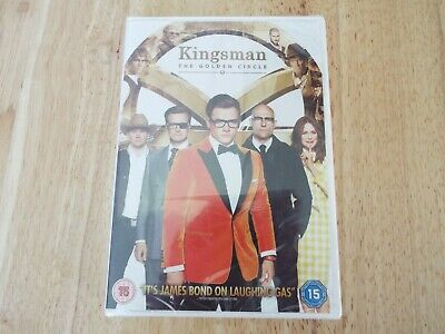 Kingsman The Golden Circle - Brand New Sealed Dvd!
