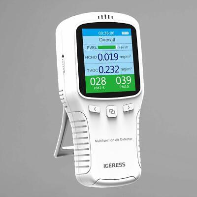 Newest Improved Air Quality Detector Meter Monitor With Colour LCD