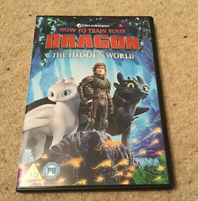 How to Train Your Dragon 3: The Hidden World [DVD]