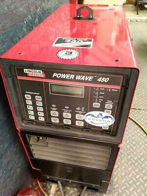 Lincoln Electric Power Wave 450 Multi-Process Industrial Welder. Excellent Cond.