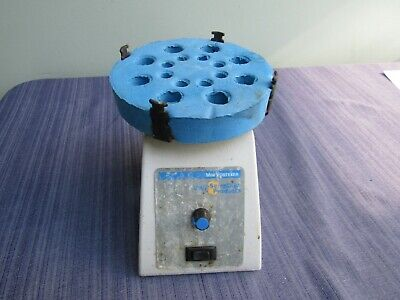 VWR SCIENTIFIC MINI VORTEXER multi tube VORTEX MIXER CAT NO. 58816-121
