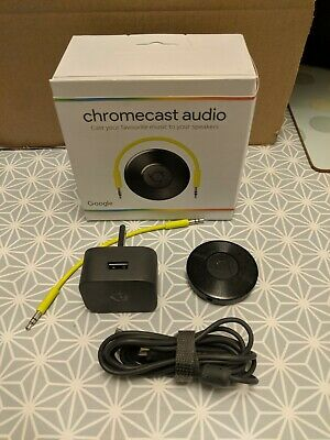 Google Chromecast Audio (2nd Generation) Media Streamer - Black