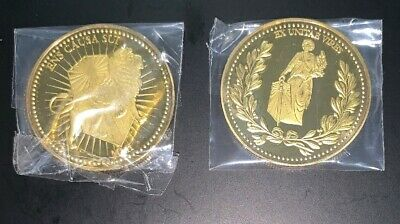 John Wick Continental Hotel Gold Coin Replica Movie ACCURATE Detail Prop