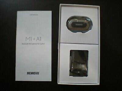 REMOVU M1+A1 wireless Microphone and Receiver for GoPro HERO4, HERO3+, HERO3