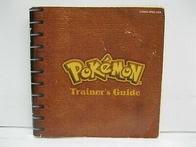 Nintendo Gameboy Pokemon RED Version Trainer's Guide Booklet Only