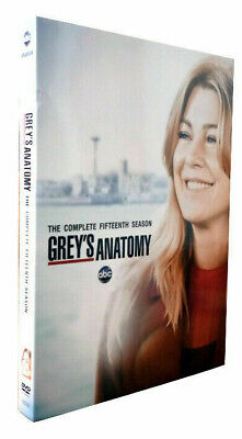Grey's Anatomy Season 15 DVD Complet 15th Series Box Set Brand New (24 Hrs Post)