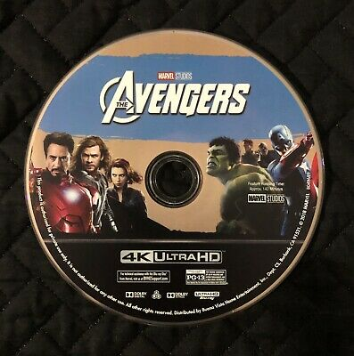The Avengers 4K Bluray Disc Only