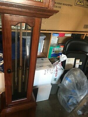 antique grandfather clock all in good condition