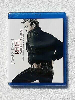 Rebel Without A Cause (Blu-ray Disc, 2014) James Dean Natalie Wood NEW Sealed