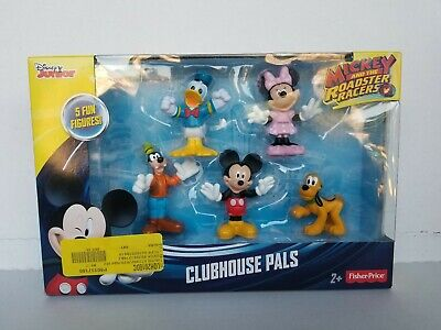 NEW Set of 5 Mickey Mouse Clubhouse Pals by Fisher-Price & Disney