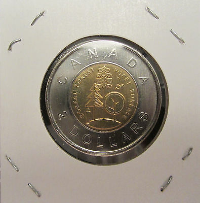 1911 - 2011 100th ANNIVERSARY THE PARKS OF CANADA $2 TOONIE FROM MINT ROLLS UNC