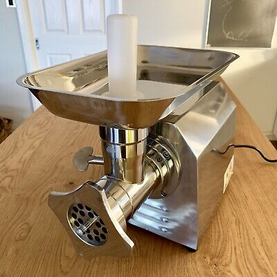EuroChef Commercial Meat Mincer- Electric Grinder & Sausage Maker Filler