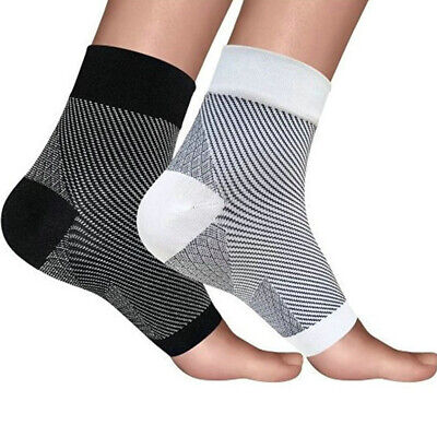 Unisex Ankle Pain Relief Socks Elastic Sleeve Running Compression Relieves Pain