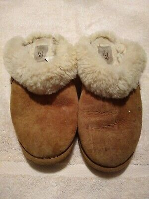 e506683e74eb9 UGG CLUGGETTE SHEARLING Slide Slipper - Women's Size 7, Chestnut ...